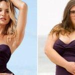 Foto: Femeile obișnuite au îmbrăcat costumele Victoria's Secret!