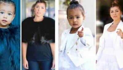 O femeie s-a îmbrăcat timp de o săptămână ca fiica vedetei Kim Kardashian. Ce a ieșit!
