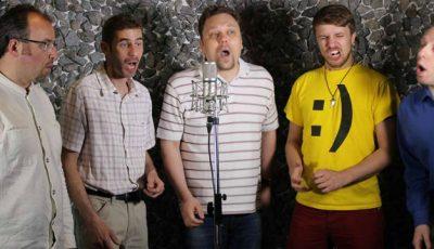 """Lituanienii cântă """"Moldovenii s-au născut""""!"""