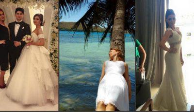 Vedetele autohtone care au îmbrăcat rochia de mireasă primăvara aceasta!