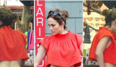 Nu ai să crezi! Cum arată silueta vedetei Jennifer Lopez fără photoshop!