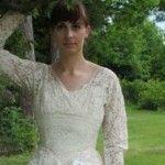 """Foto: S-au """"bătut"""" pentru această rochie de mireasă"""