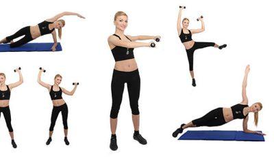 5 exerciții care-ți subțiază talia!