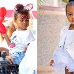 Foto: Fiica lui Kim Kardashian a împlinit 2 ani! Părinţii i-au dat o petrecere la Disneyland!