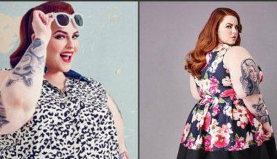 Modelul de 120 de kg a îmbrăcat costumul de baie: ,,Nu mă deranjează când sunt numită grasă''!