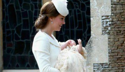 Prinţesa Charlotte a fost botezată!