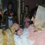 Foto: Fiul Rusalinei Russu a fost încreştinat