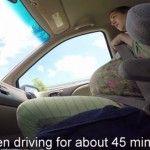 Foto: Video. Această femeie a născut în maşină, timp de un minunt