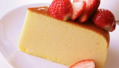 Un desert senzaţional – cheesecake japonez
