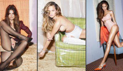 Zece modele cunoscute s-au dezgolit frumos în cadrul unei ședințe foto!