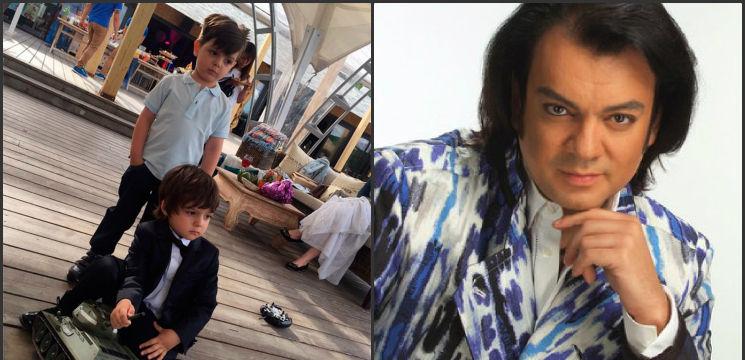 Foto: Seamănă izbitor! Unul din copii este fiul lui Filipp Kirkorov