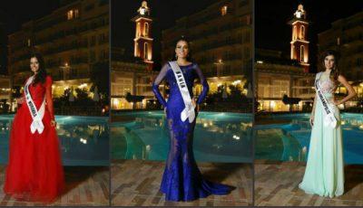 Participantele concursului Miss Brazil în rochiile O'Blanc