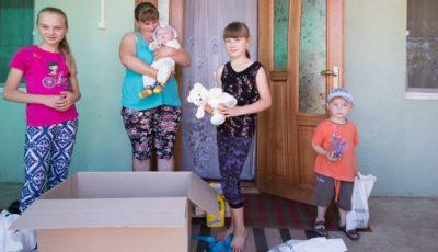 Mamele cu mulți copii în dificultate susţinute de Medpark
