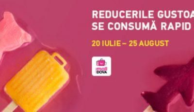 Reducerile gustoase se consumă rapid la Shopping MallDova!