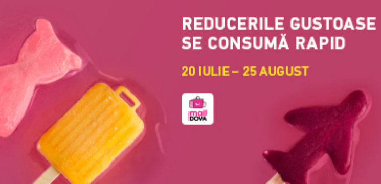 Foto: Reducerile gustoase se consumă rapid la Shopping MallDova!