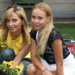 Foto: Fiica Tatianei Navka o copiază pe mama sa în toate!