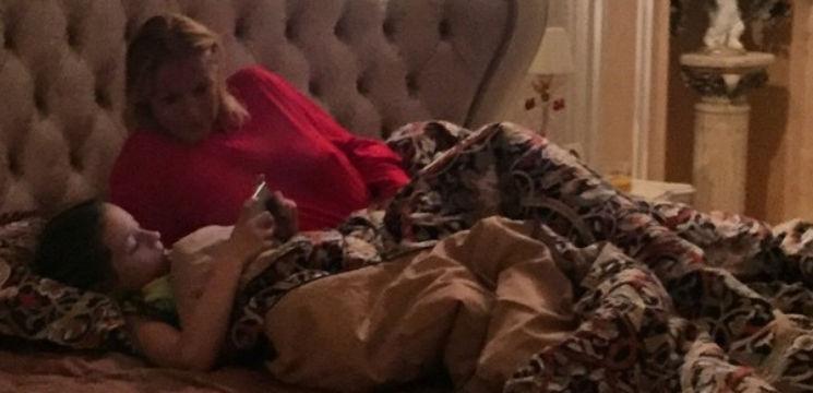 Foto: Cum și unde se odihnește Anastasia Volocikova