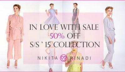 Reduceri de 50% în magazinele Nikita Rinadi!