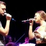 Foto: Video! Cătălin Josan și Nicoleta Nucă au cântat în duet la Chișinău!