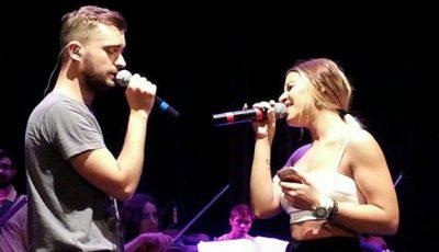 Video! Cătălin Josan și Nicoleta Nucă au cântat în duet la Chișinău!