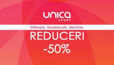 Mega promoție la Unica Sport în primele 3 zile de septembrie!