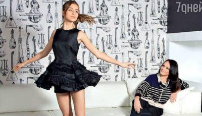 Nepoata Sofiei Rotaru, imaginea casei de modă Armani!