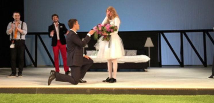 Foto: Alegem cele mai frumoase cereri în căsătorie din showbizz-ul rusesc!