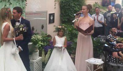 Primele poze de la nunta Danei Borisova