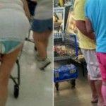 Foto: Cât de caraghios se îmbracă americanii la cumpărături!