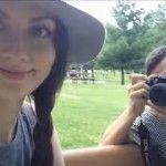 Foto: Video. Cum se distrează Alecu Mătrăgună și Cornelia Corlătean în Canada!
