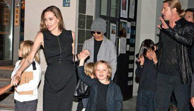 Chelnerii au rămas șocați. Ce bacşiş au lăsat Angelina Jolie şi Brad Pitt într-un fast food