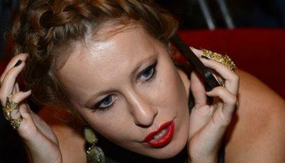 """Ksenia Sobceak urăște oamenii grași. """"Nu există nimic mai frumos decât o siluetă suplă ca a mea."""""""