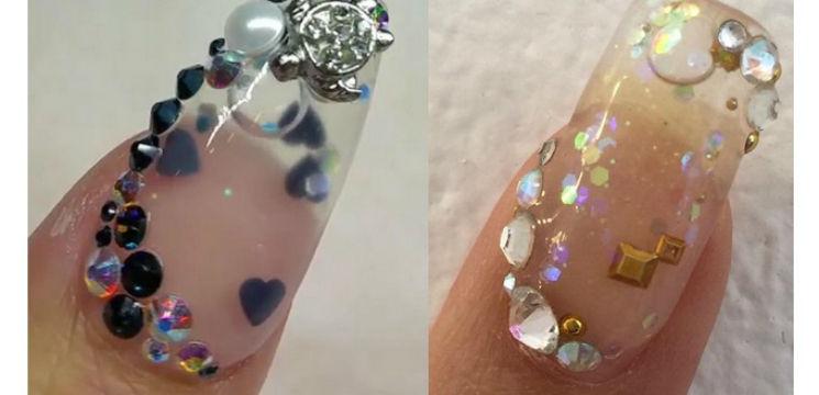 Foto: O nouă tendință-manichiura acvariu! Îți place?