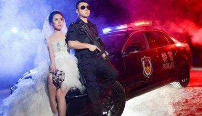 Fotografii de nuntă în stil military