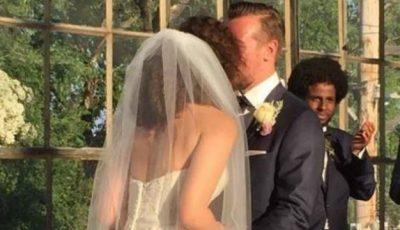 Moment comic la o nuntă! O domnișoară de onoare a leșinat