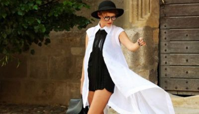 Învață de la o bloggeriță cum să porți rochia-cămașă!