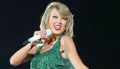 Taylor Swift a purtat ținuta unui designer român!