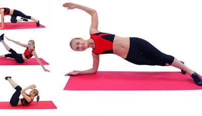 5 pași pentru un abdomen plat și o talie reliefată!