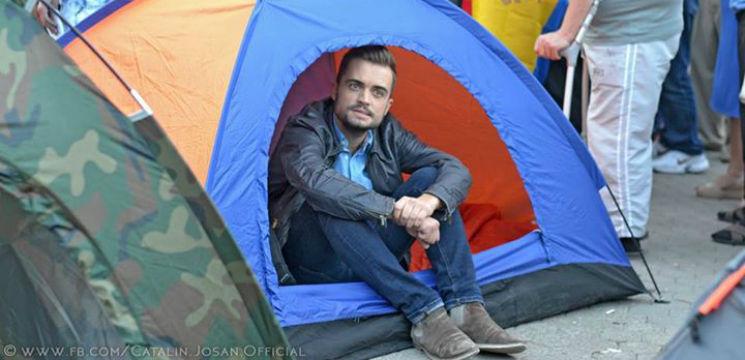 Foto: Cătălin Josan și-a făcut casă în PMAN!