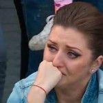 Foto: Aliona Triboi plânge în hohote!