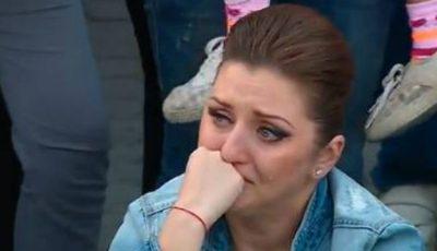 Aliona Triboi plânge în hohote!