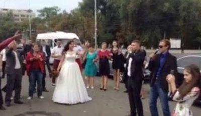 Video! Nuntă în orășelul demnității din PMAN