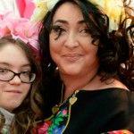 Foto: Cum a reuşit Lolita să lupte cu boala fiicei sale: autismul