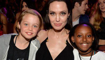 Angelina Jolie a ajuns la psihiatru cu fetița mijlocie