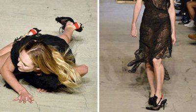 Vedetă cu burtică și modele care au aterizat nereușit, la prezentarea Givenchy!