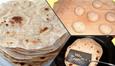 Pâinea indianului se prepară uşor, fără drojdie, din făină integrală