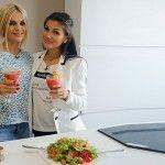 Foto: Tatiana Vornicescu și Daniela Jenunchi, despre stresul kilogramelor în plus