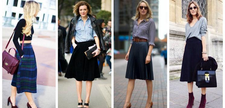 Foto: Cum să asortezi fusta midi. Idei de toamnă!