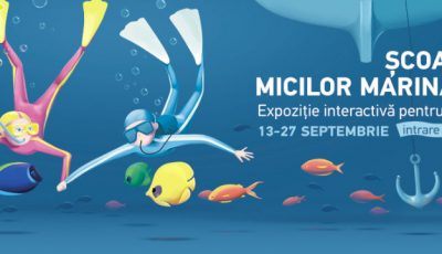 Școala micilor marinari la Shopping MallDova