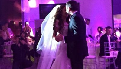 Cristina Moldovanu s-a măritat!